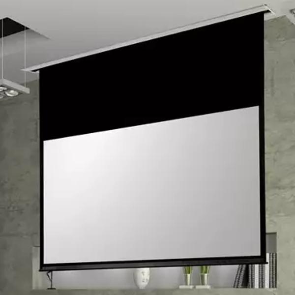 Suprema Polaris Ekran projekcyjny (4:3) rozwijany elektrycznie do zabudowy sufitowej Rozmiar: 203 x 152cm Polska Gwarancja