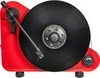 Pro-Ject VT-E Poziomy gramofon analogowy z wkładką Ortofon OM5e Kolor: Czerwony, Wersja: lewostronna Polska Gwarancja