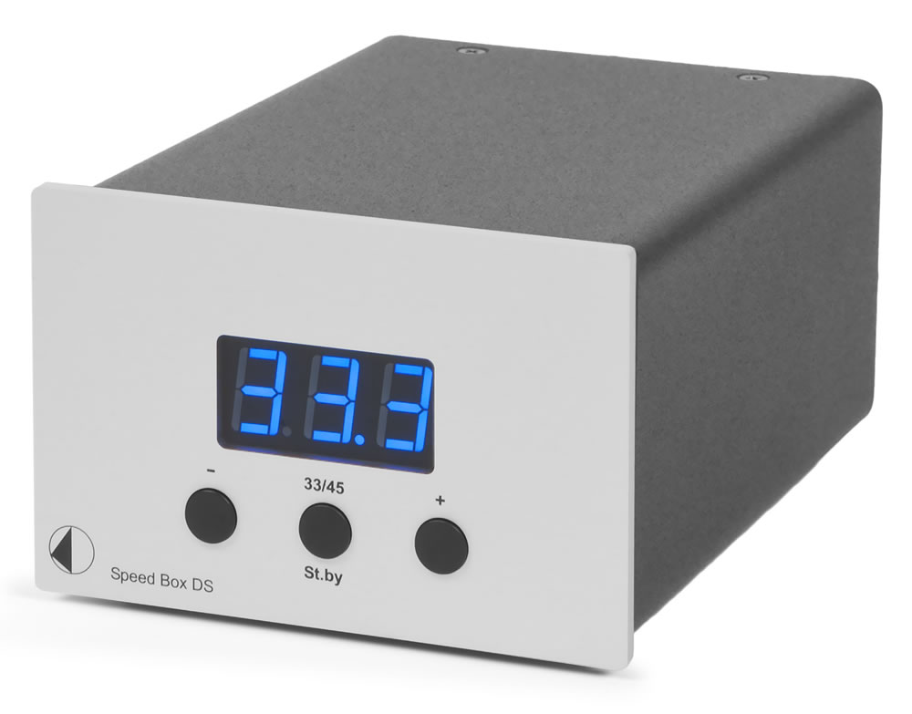 Pro-Ject Speed Box DS (SpeedBox) Elektroniczny przełącznik obrotów Kolor: Srebrny Polska Gwarancja