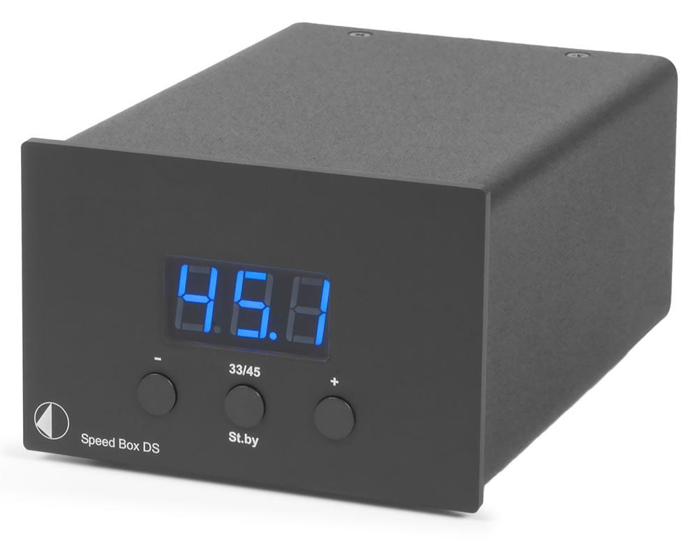 Pro-Ject Speed Box DS (SpeedBox) Elektroniczny przełącznik obrotów Kolor: Czarny Polska Gwarancja