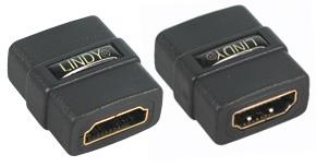 Przejściówka (łącznik) gniazdo HDMI - gniazdo HDMI (obsługa 3D, Ethernet i ARC) Lindy 41230 Polska Gwarancja