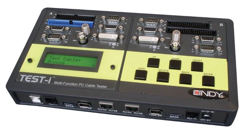 Wielofunkcyjny profesjonalny tester kabli Lindy 43019 Polska Gwarancja