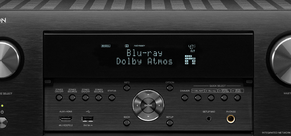 Denon AVR-X4500H (AVRX4500H) AV Surround amplifier 9 2 with Dolby Atmos,  DTS:X, Auro 3D