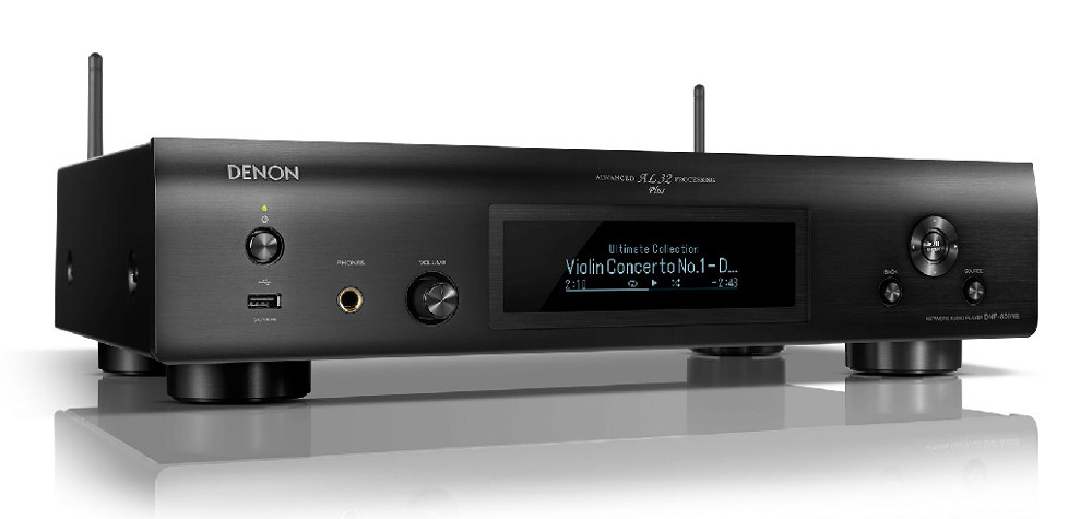 Denon DNP-800NE (DNP800NE) Network Audio Player with HEOS, Wi-Fi, Bluetooth  and DAC