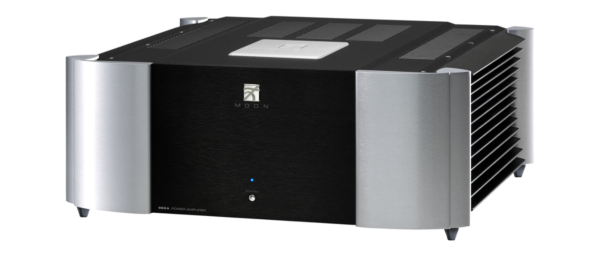 Moon by Simaudio 860A v2 (860-A) Power amplifier stereo dual-Mono 225W