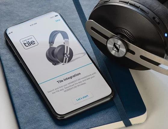 Słuchawki Sennehiser Momentum 3 Wireless z aplikacją Sennheiser Smart Control App