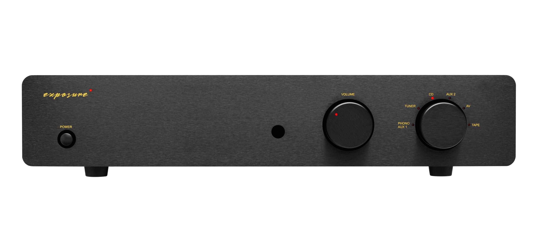 Exposure 2510 audiofilski analogowy wzmacniacz zintegrowany stereo 2x75W RMS z wejściem gramofonowym MM