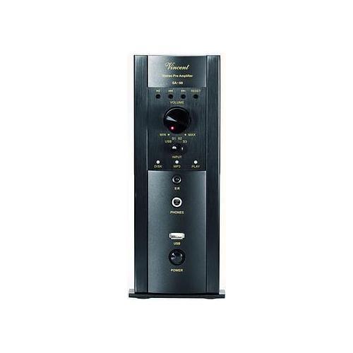 Vincent SA-96 (SA96) Przedwzmacniacz stereo hybrydowy Kolor: Ciemny Polska Gwarancja