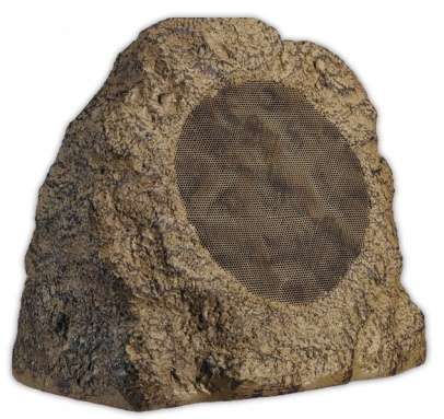 ArtSound Rock Głośnik zewnętrzny odporny na promienie UV, wodoodporny (szary, brązowy kamień) - 1szt. Kolor: Szary Polska Gwarancja