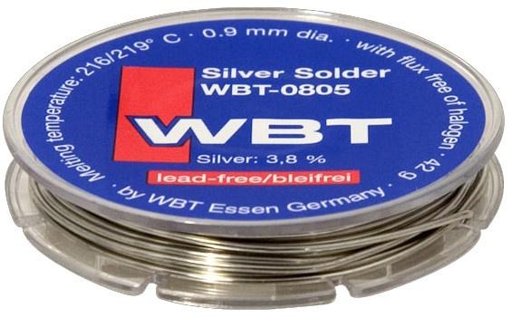 WBT-0805 Cyna (spoiwo lutownicze) bezołowiowa 4% srebra 42g - 10m Polska Gwarancja