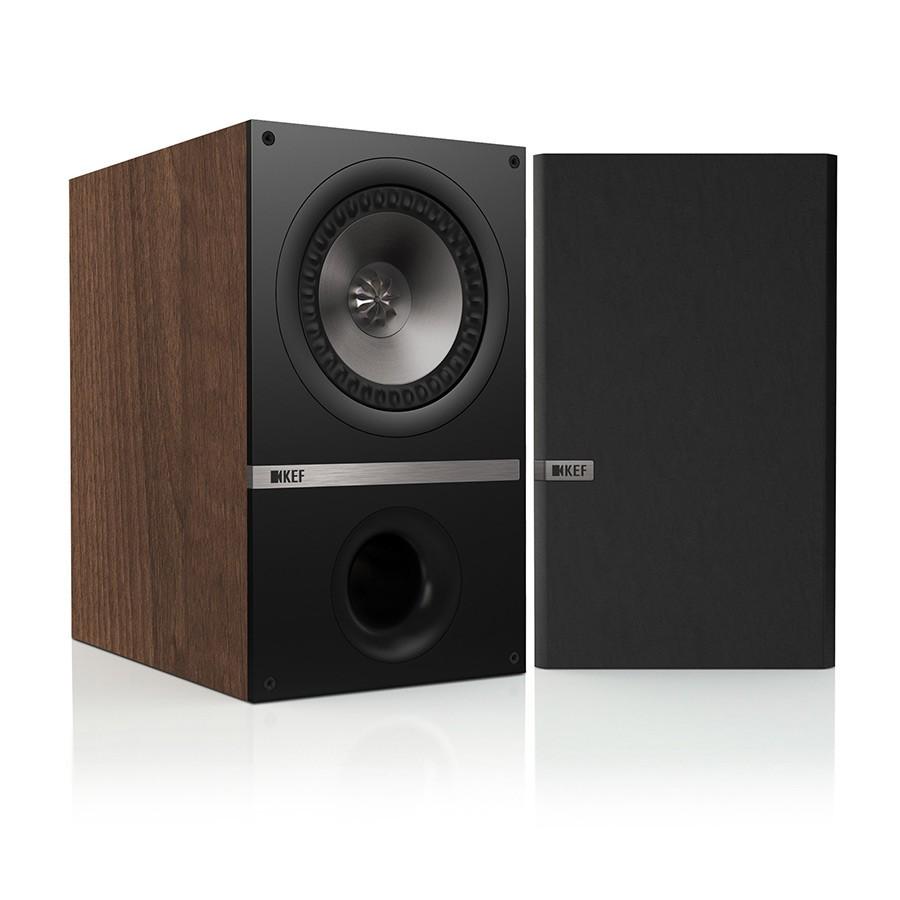KEF Q100 (Q 100) Kolumny stereo (surround)  - 2szt Kolor: Orzech Polska Gwarancja