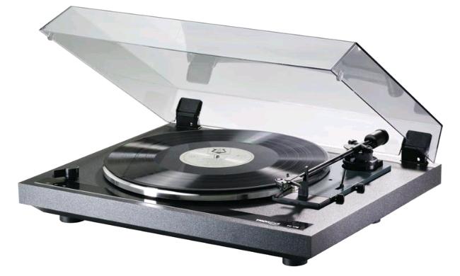 Thorens TD 170 EV (TD170EV) Gramofon automatyczny z przedwzmacniaczem Ramię: Thorens TP18, Wkładki: OMB10, Kolor: Czarny Polska Gwarancja