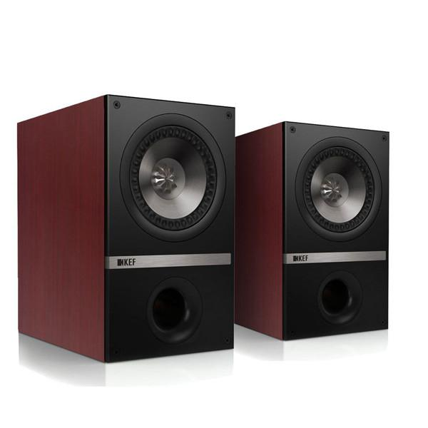 KEF Q100 (Q 100) Kolumny stereo (surround)  - 2szt Kolor: Wiśnia Polska Gwarancja