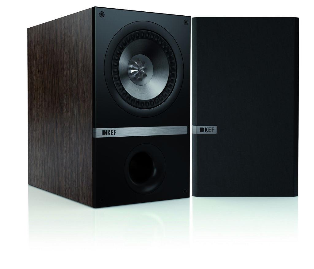 KEF Q100 (Q 100) Kolumny stereo (surround)  - 2szt Kolor: Czarny dąb Polska Gwarancja