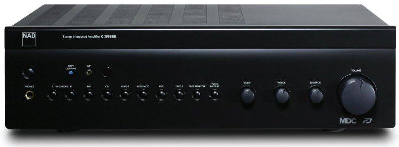 NAD C 356 BEE (C356) Wzmacniacz zintegrowany stereo 80W Polska Gwarancja