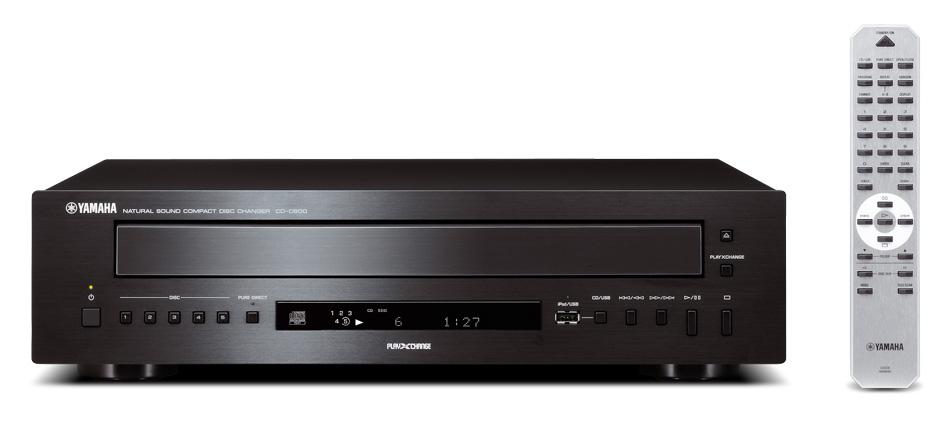 Yamaha CD-C600 (CDC600) Odtwarzacz / zmieniarka CD na 5 płyt  Kolor: Jasny Polska Gwarancja