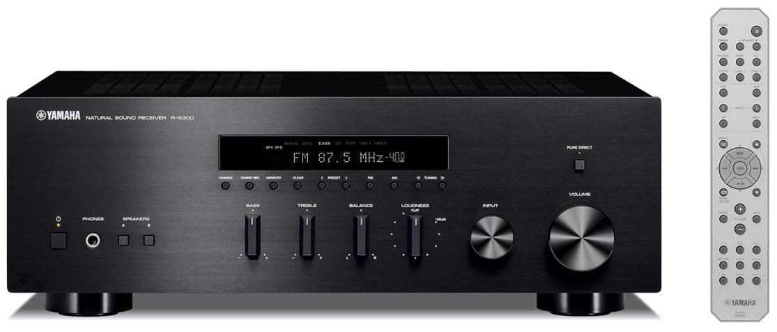 Yamaha R-S300 (RS300) Amplituner stereo (2x55W) Kolor: Ciemny Polska Gwarancja