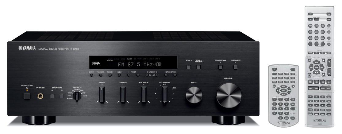 Yamaha R-S700 (RS700) Amplituner stereo (2x160W) Kolor: Ciemny Polska Gwarancja
