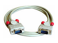 Lindy 31510 kabel szeregowy RS232 (COM) wtyk-wtyk - 2m Polska Gwarancja
