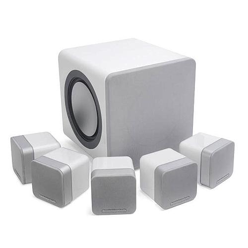 Cambridge Audio Minx s215 (Minxs215) Zestaw kolumn do kina domowego 5.1 Kolor: Biały błyszczący Polska Gwarancja