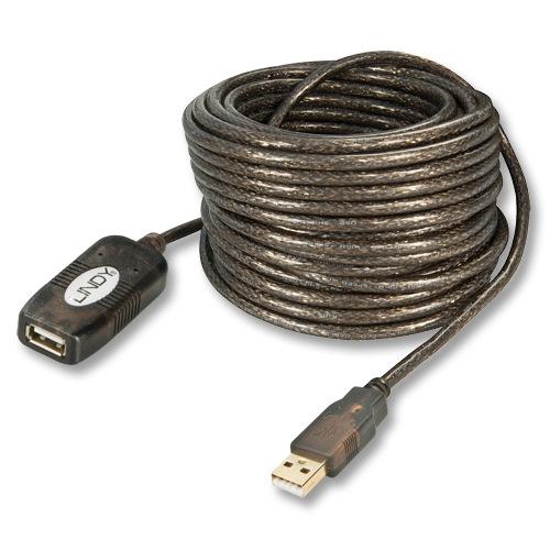 Lindy 42631 przedłużacz aktywny USB A wt.-gn. - 20m Polska Gwarancja