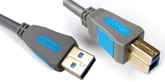 Bridge Premium BPC342 Kabel USB 3.0 A-B - 2m Polska Gwarancja