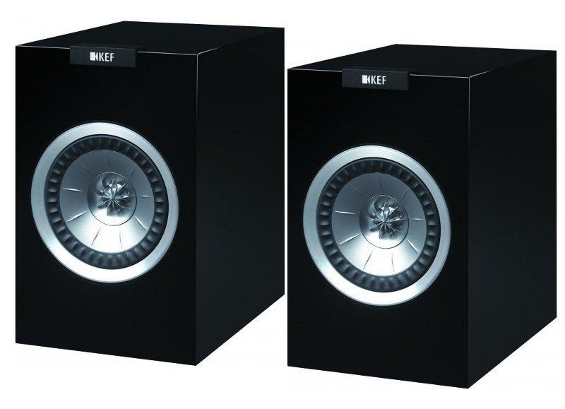KEF R100 (R-100) Kolumny stereo (surround) - 2szt Kolor: Czarny Polska Gwarancja
