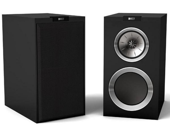 KEF R300 (R-300) Kolumny stereo (surround) - 2szt Kolor: Czarny Polska Gwarancja