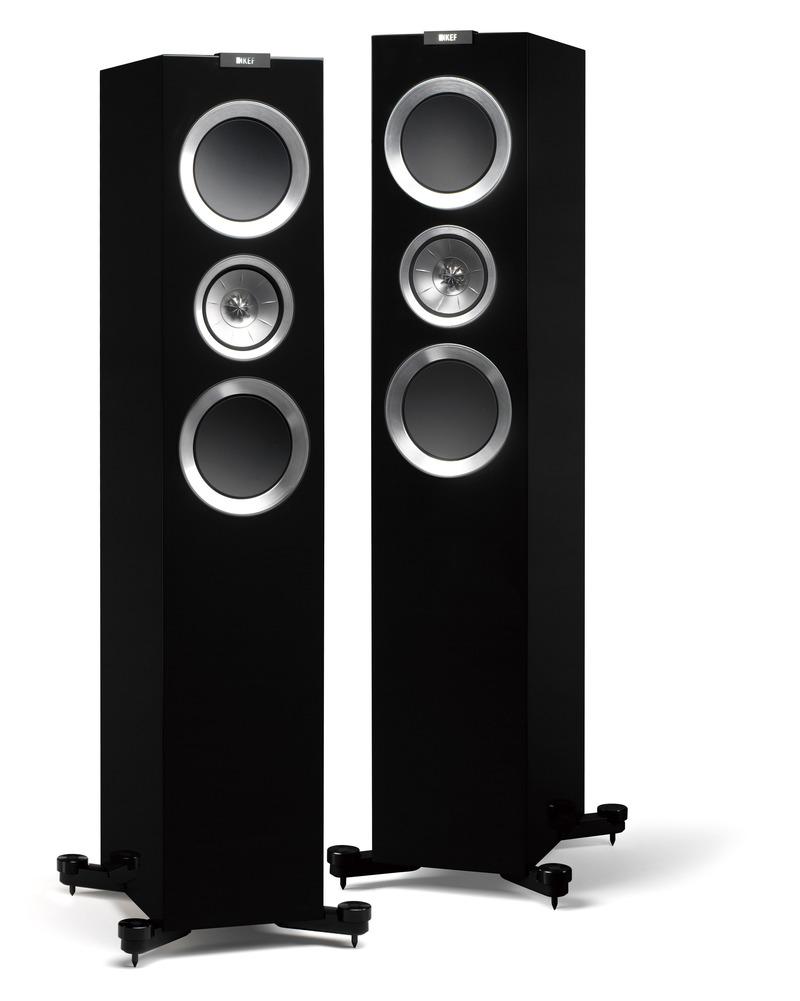 KEF R700 (R-700) Kolumny stereo  - 2szt Kolor: Czarny Polska Gwarancja