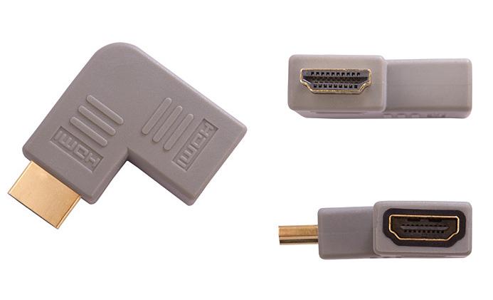 Bridge Premium BPVA14 (BPVA14) Łącznik HDMI kątowy (lewy)  Polska Gwarancja
