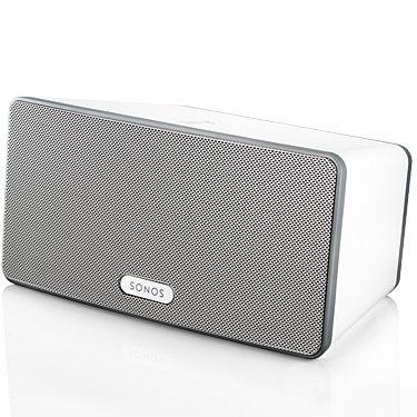 Sonos ZonePlayer S3 (Play:3) Bezprzewodowy odtwarzacz strefowy (kolumna głośnikowa) Kolor: Biały, Uchwyt: Brak Polska Gwarancja
