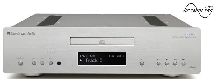 Cambridge Audio Azur 851C (851 C) Odtwarzacz CD z serii Azur z obsługą PC-Audio USB nagroda od EISA 2012/2013 Kolor: Jasny Polska Gwarancja