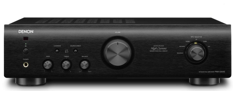 Denon PMA-520AE (PMA520AE) Wzmacniacz zintegrowany stereo 70W Kolor: Czarny Polska Gwarancja