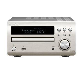 Denon RCD-M39 (RCDM39) Amplituner stereo z wbudowanym odtwarzaczem CD (2x30W)  Kolor: Jasny Polska Gwarancja