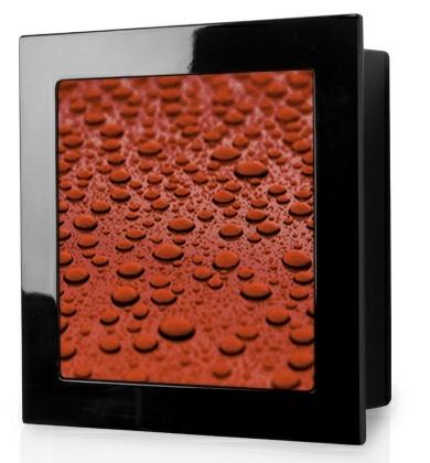 Monitor Audio Soundframe SF3 Dyskretny głośnik ścienny (Imitacja obrazu - różne wzory) Kolor: Czarny błyszczący Polska Gwarancja