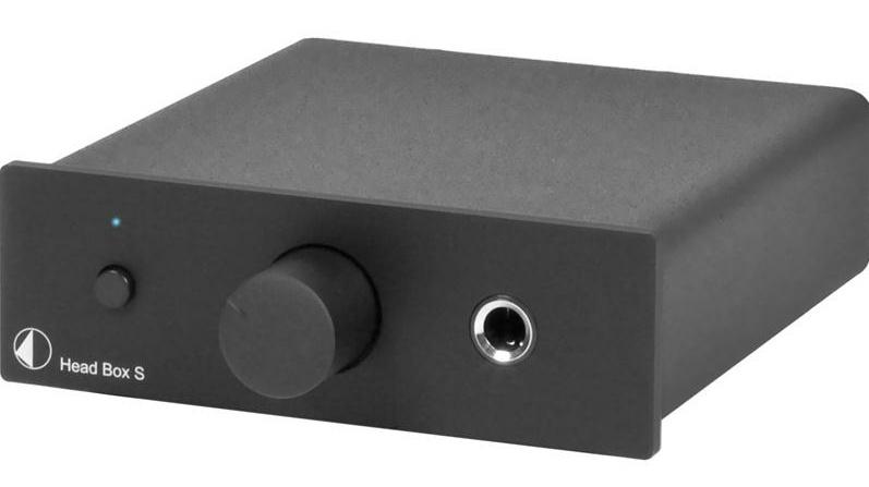 Pro-Ject HEAD BOX S (HEADBOXS) Wzmacniacz słuchawkowy  Kolor: Ciemny Polska Gwarancja